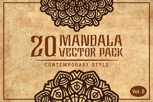 Mandala (Contemporary Style) Vol. II