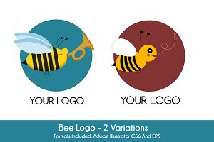 Bee Logo (2 versions)