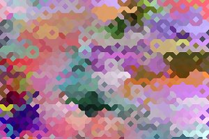 Colorful Seamless Tiling Pattern