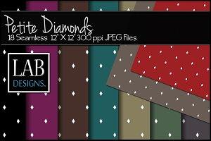 18 Small Diamond Backgrounds