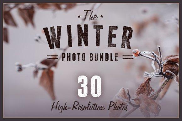 The Winter Photo Bundle 30 Photos