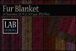 24 Fashion Fur Blanket Textures