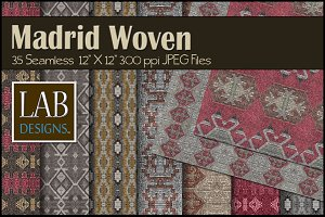 35 Spanish Woven Fabric Textures