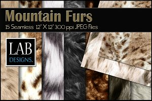 15 Mountain Fur Seamless Textures
