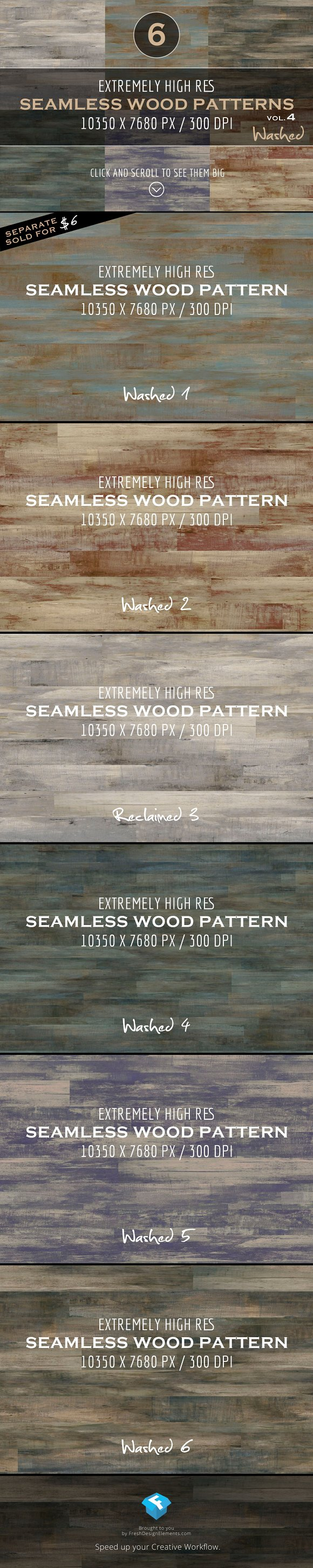 Extremely HR Wood Patterns vol. 4 - Patterns