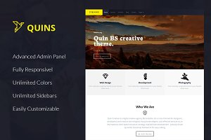 Quins - Corporate WordPress Theme