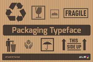 Packaging Typeface