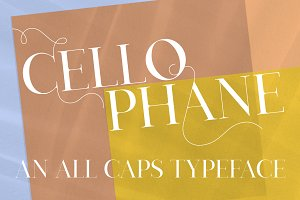 Cellophane Typeface