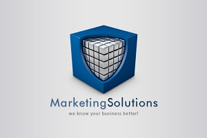 3D Business Solutions Logo