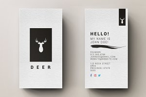Minimal Business Card with Logo