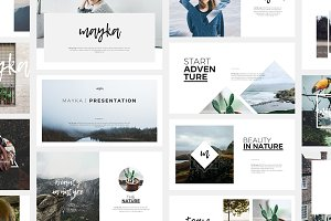 Mayka Keynote Template