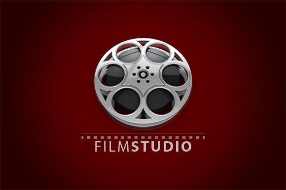 3D Film Studio Logo Logo Templates Creative Market