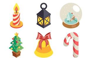 Christmas Isometric