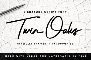 Twin Oaks Signature Script