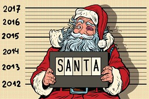 Criminal Santa Claus arrested