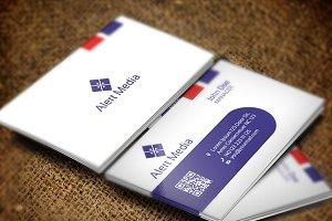 Alert Media Business Card