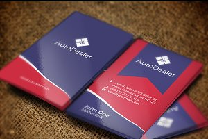 AutoDealer Business Card