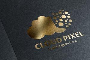 Cloud Pixel Logo