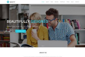 Mosty - Business Template