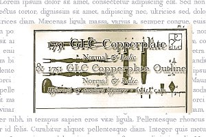 1751 GLC Copperplate OTF