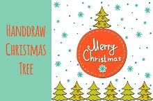 Handdraw Christmas Tree