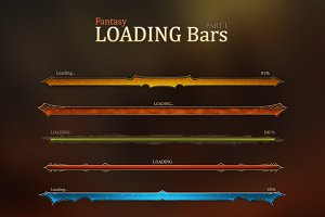 Fantasy Loading Bars 1