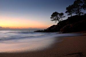 Costa brava in Spain