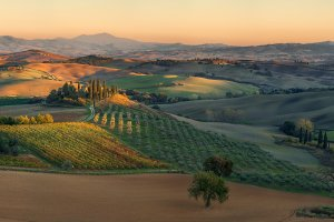 Evening Val d'Orcia web