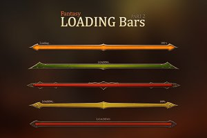 Fantasy Loading Bars 2