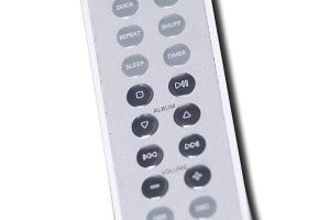 Audio remote control isolated