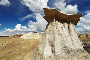 Bisti Badlands, NM, USA