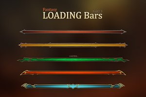 Fantasy Loading Bars 3
