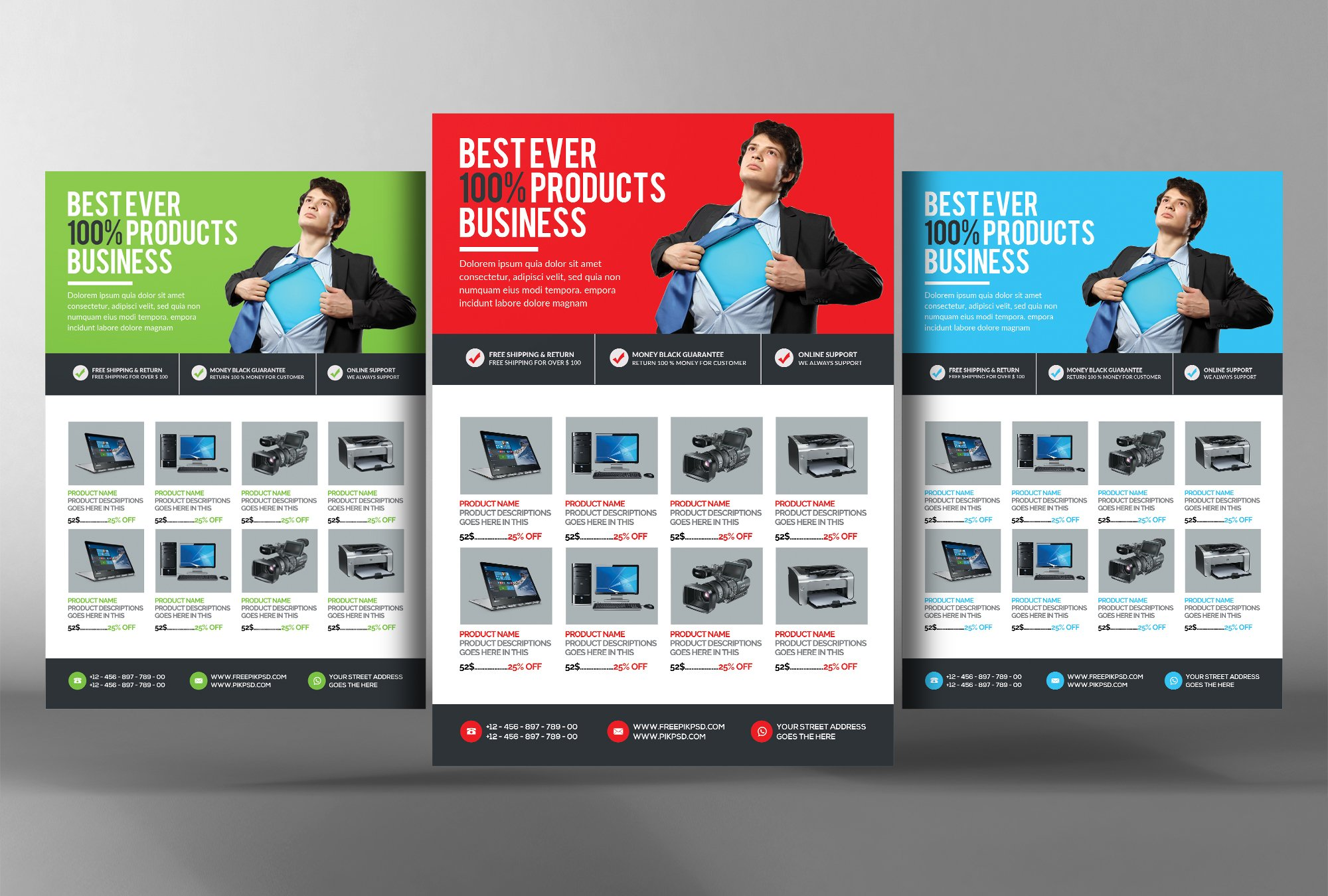 elegant product flyer photos graphics fonts themes templates product flyer template