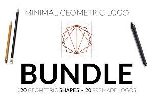 Minimal Geometric Logo Bundle v1
