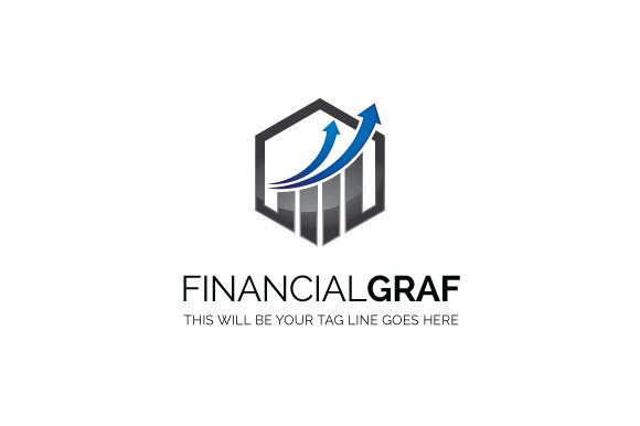 Financial graf ~ Logo Templates ~ Creative Market