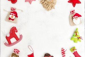 Christmas frame background JPG