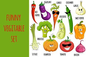 Funny Vegitable set. Smile )