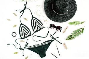Bikini and accessories