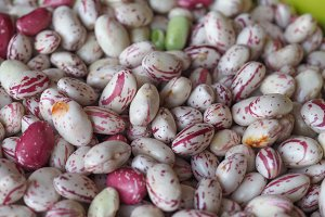 Crimson beans legumes vegetables