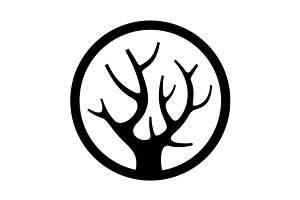 Decorative Simple Tree Logo