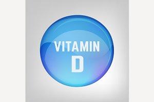 Vitamin D pill