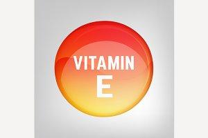 Vitamin E pill