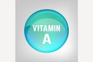 Vitamin A pill