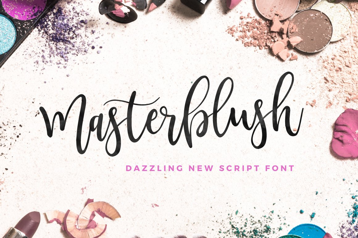 Masterblush Font ~ Script Fonts ~ Creative Market