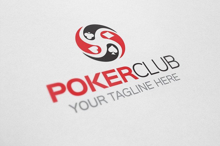 Poker Club ~ Logo Templates ~ Creative Market