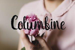 Columbine Script + bonus