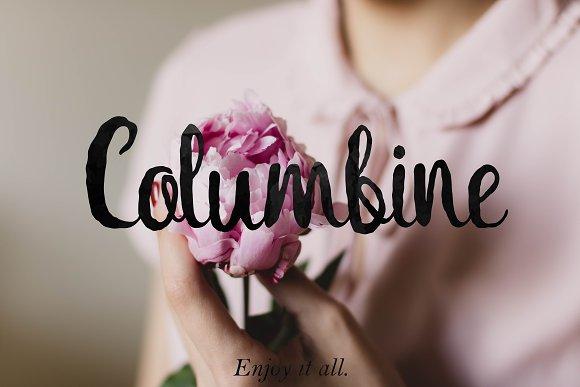 Columbine Script Bonus