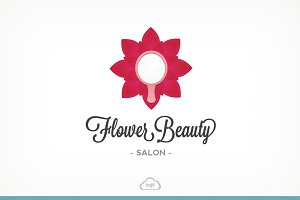 Flower Beauty Logo Template