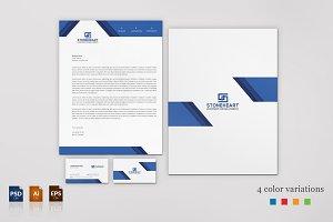 Corporate Business Card & Letterhead