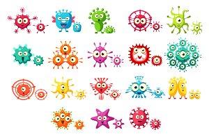 Bacteria Virus Microbe Pathogen